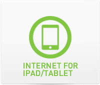 Support - Internet for iPAD/Tablet