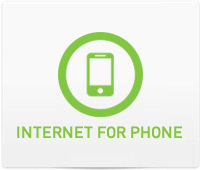 Support - Internet for Phone