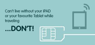 Ipad and Tablet SIM Cards